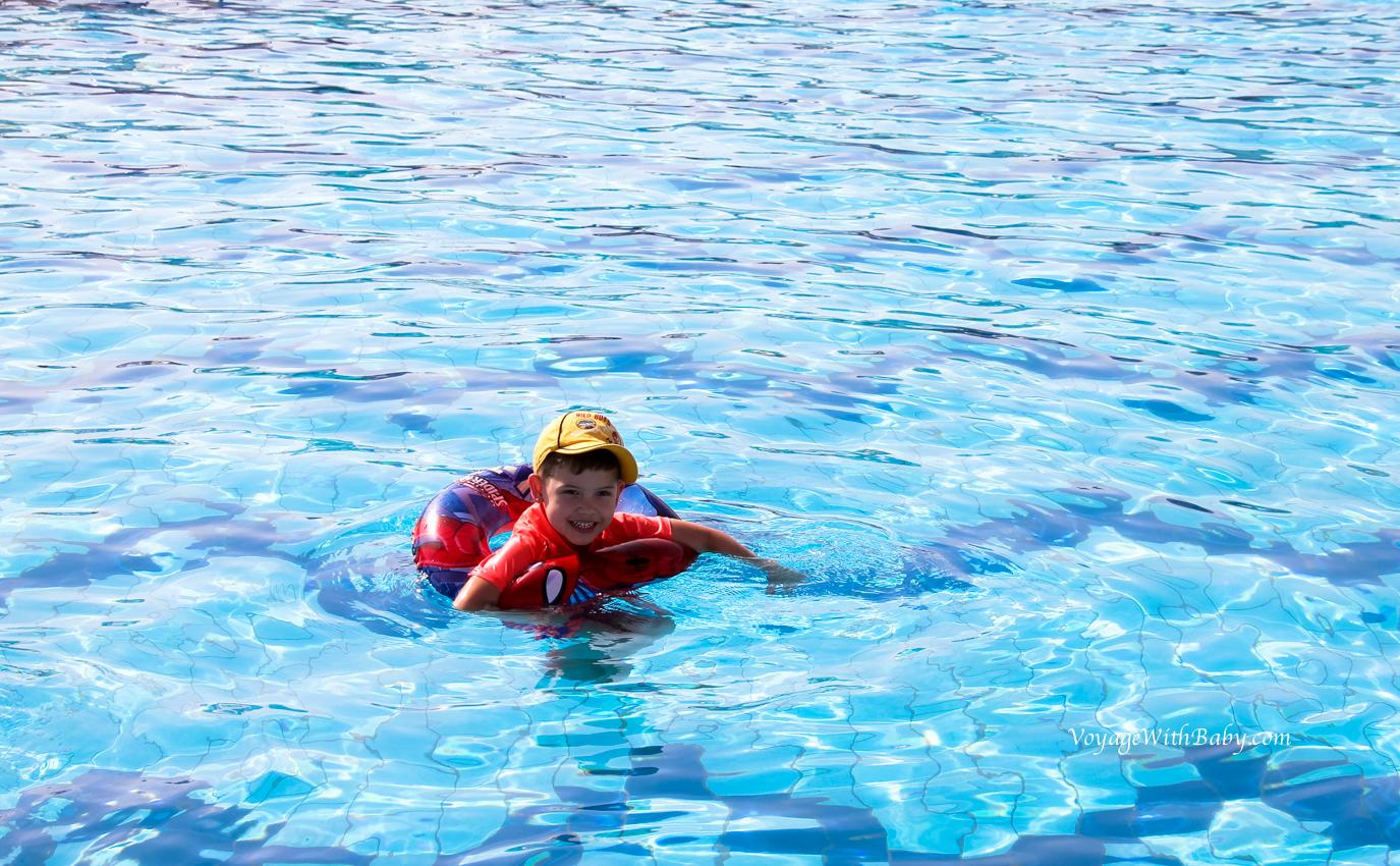 Подогреваемый бассейн в Египте