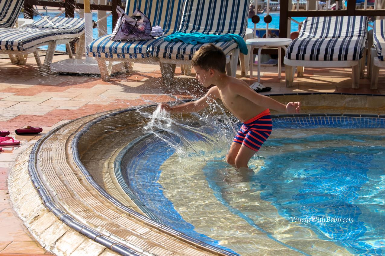 Детский бассейн в Египте