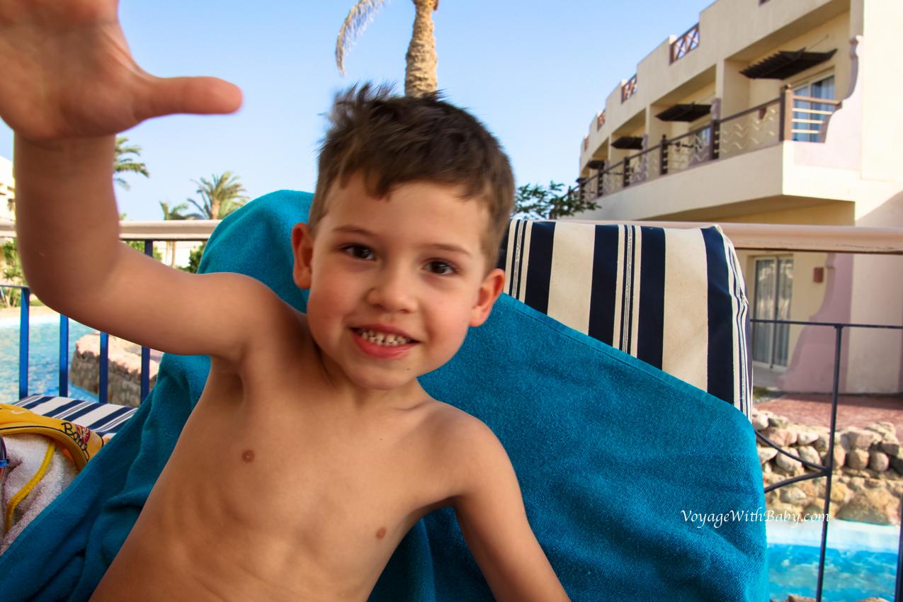 Отпуск с детьми в Египете в апреле