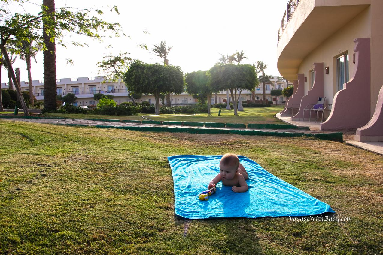 Отпуск в Египте с грудничком