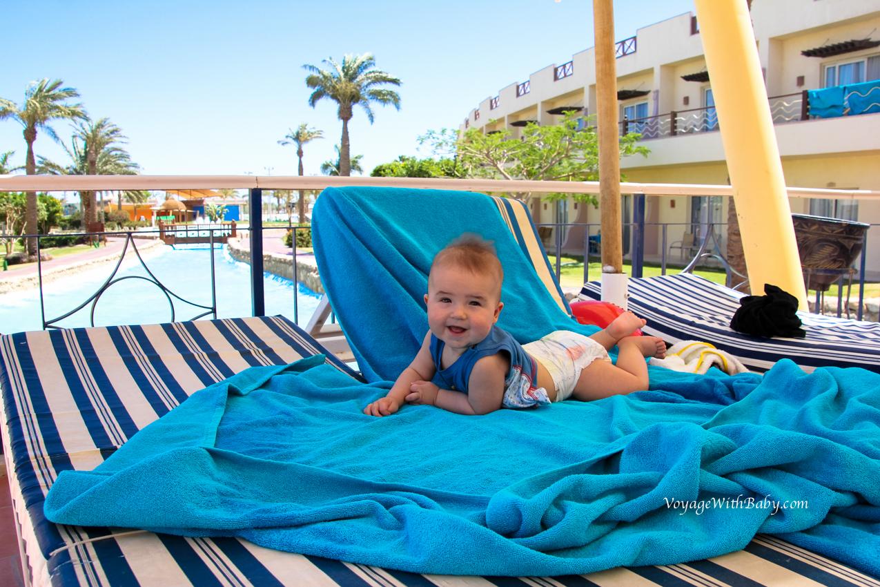 Отпуск в Египте с двумя детьми
