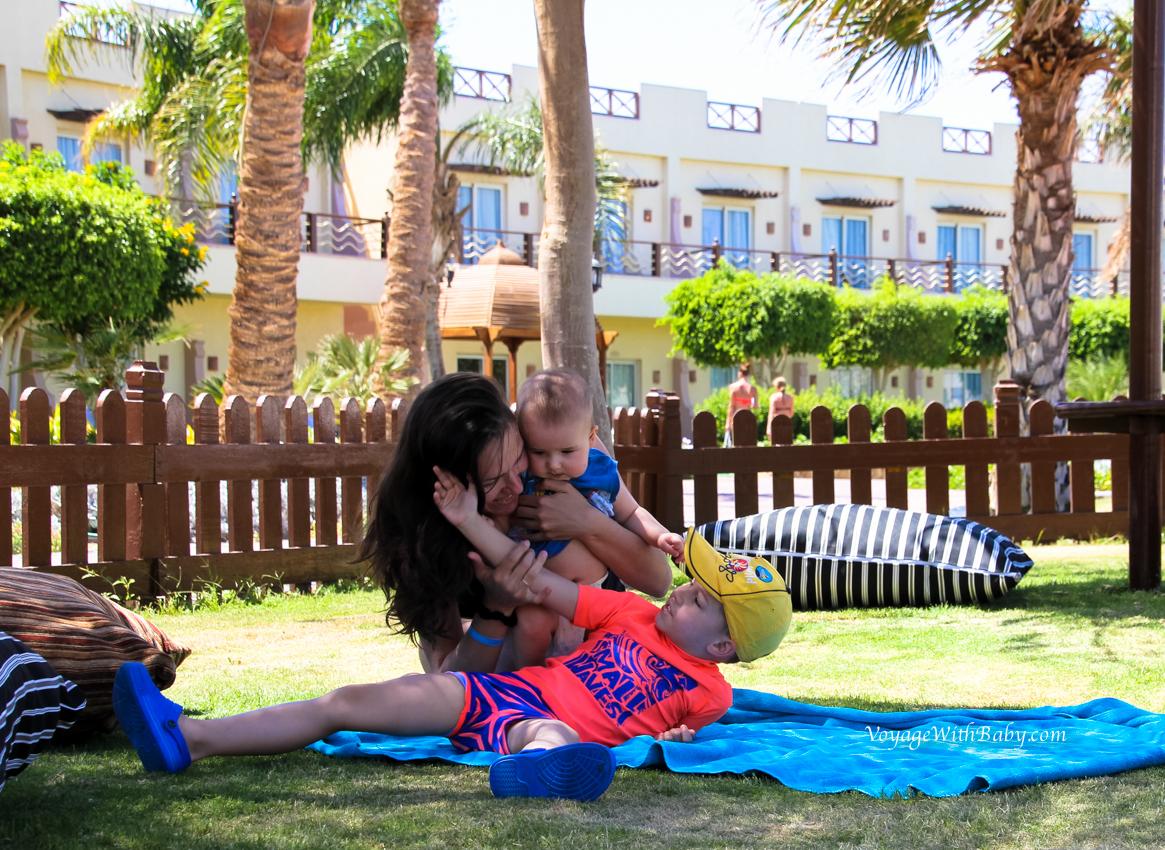 Отпуск в Египте с маленькими детьми