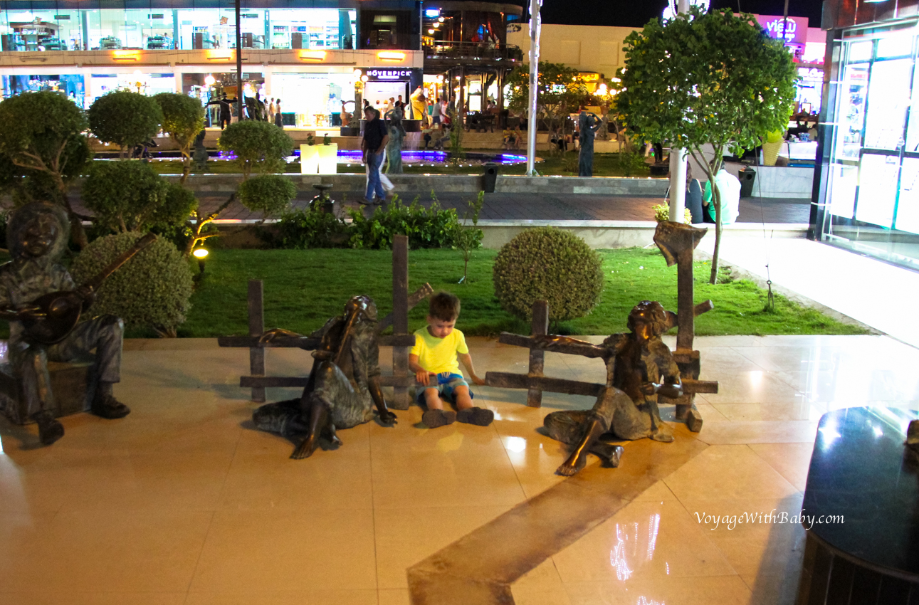 SOHO Square в Египте с ребенком