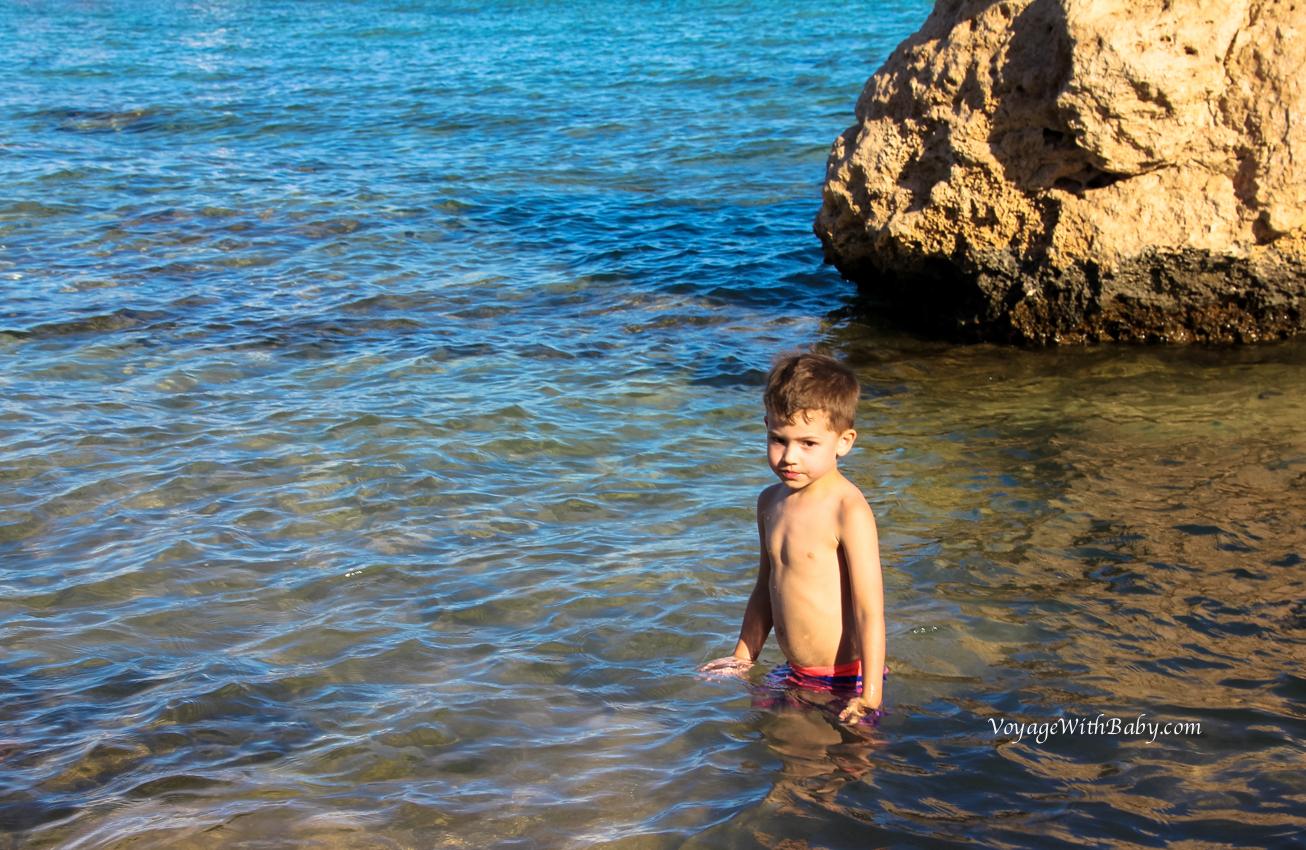Красное море в апреле с детьми