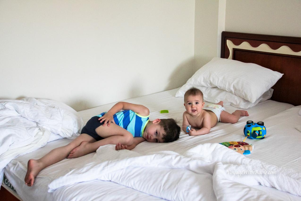 В Египет с маленькими детьми