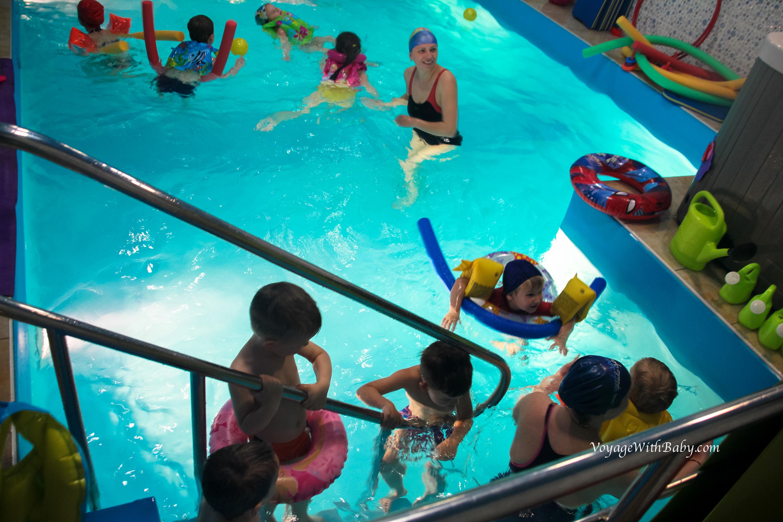 День Рождения ребенка в бассейне