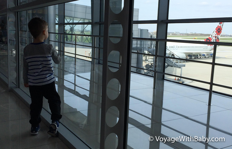 Аэропорт Харьков с детьми
