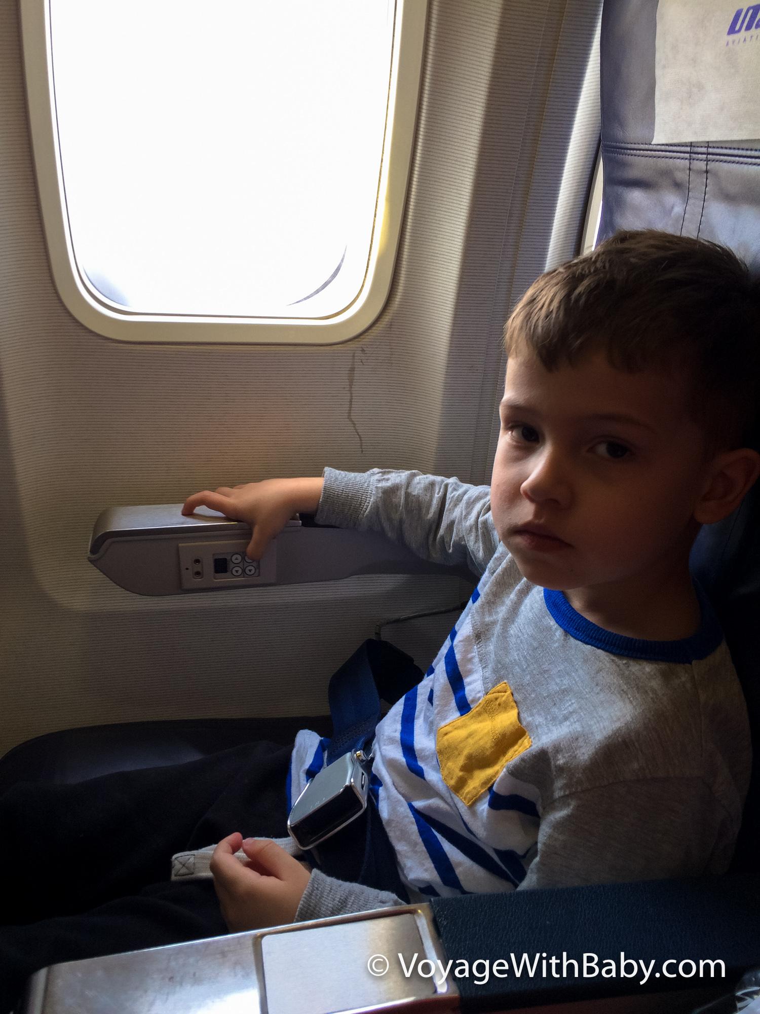 Перелет с ребенком 3 года