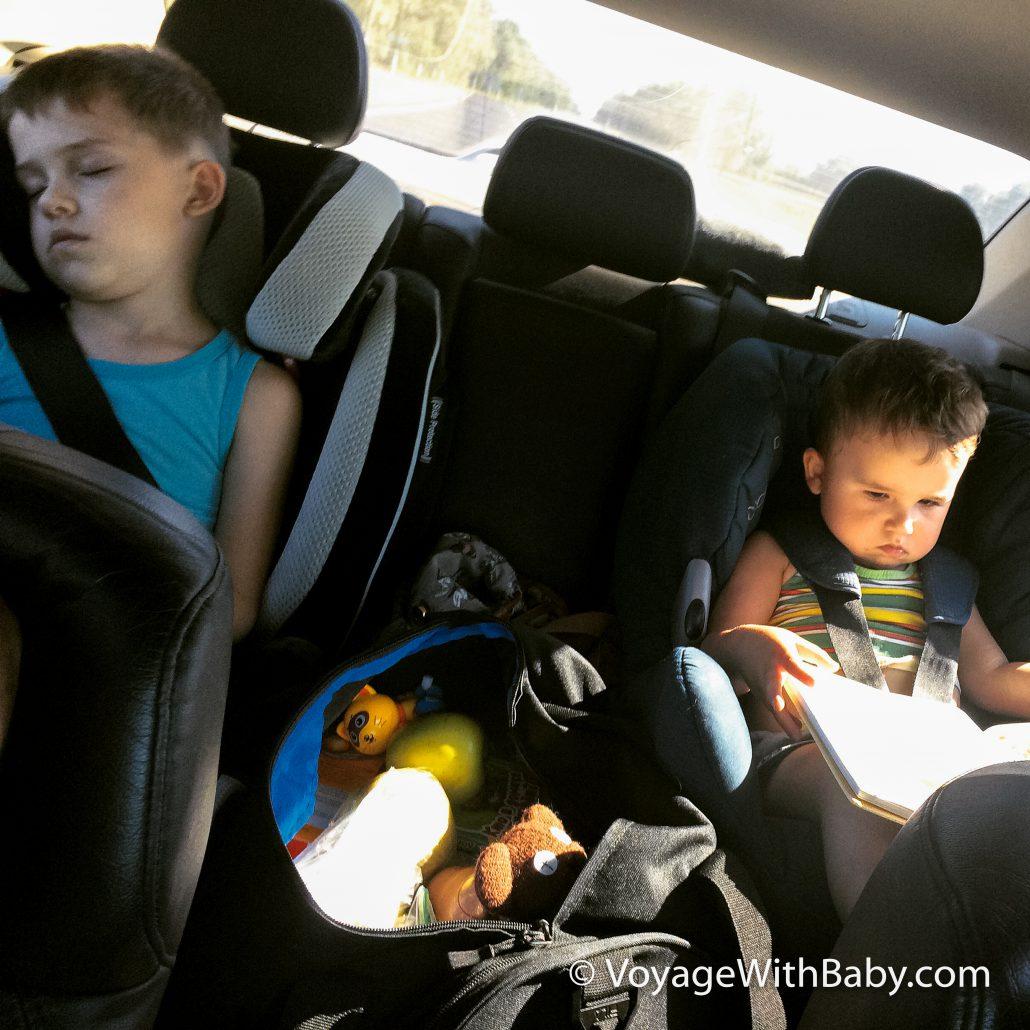 Путешествие с маленькими детьми на машине