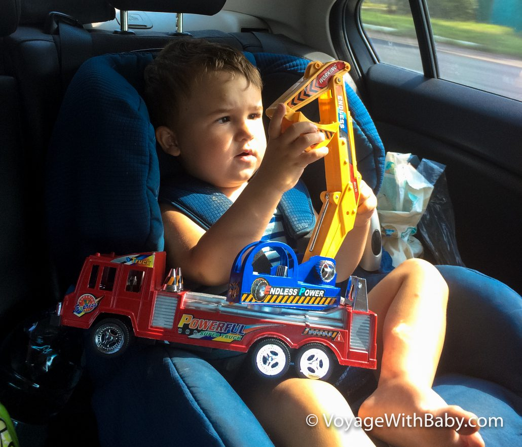 Что взять в дорогу на машине с маленькими детьми