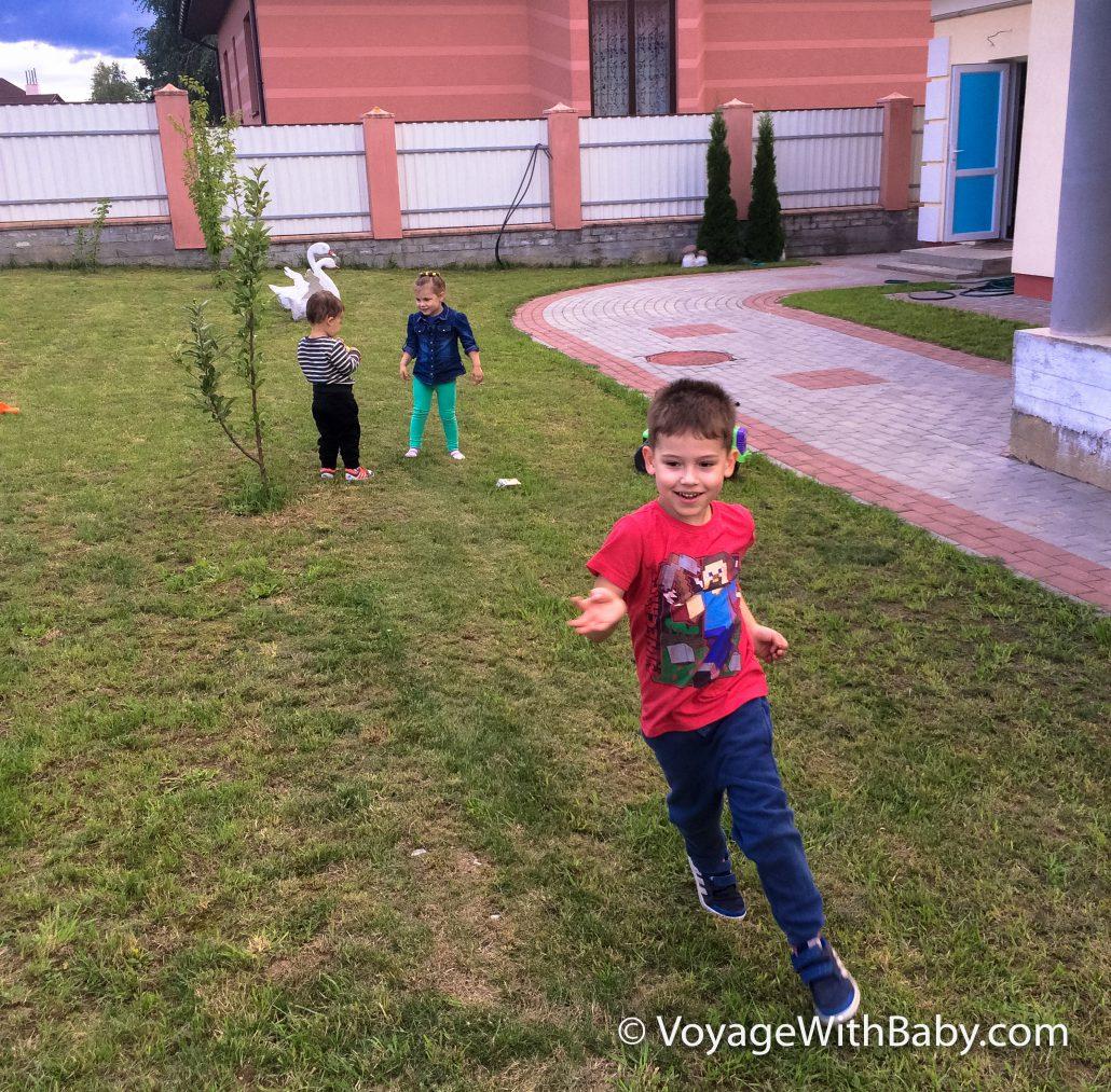 Игры во дворе