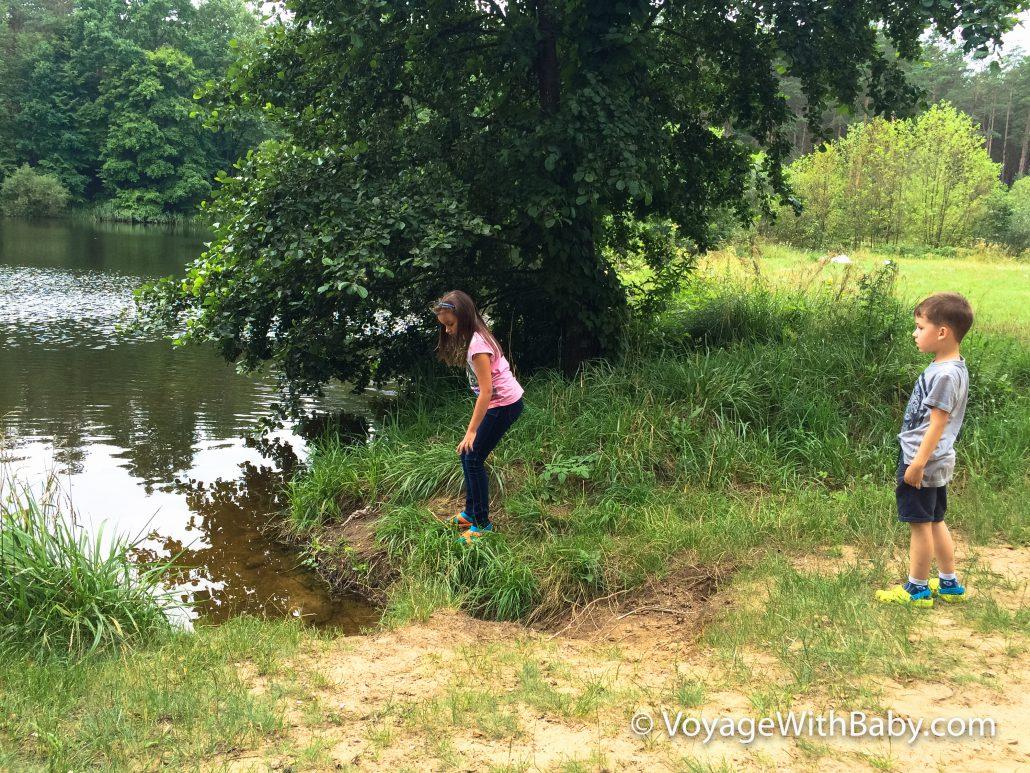 Озеро в Гродно