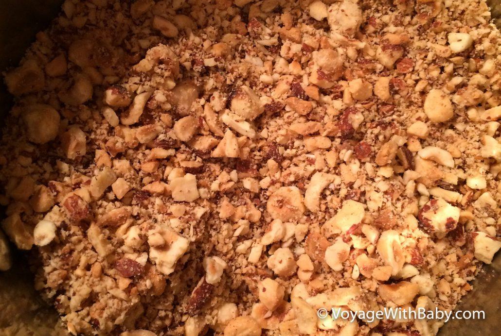 Как измельчать орехи