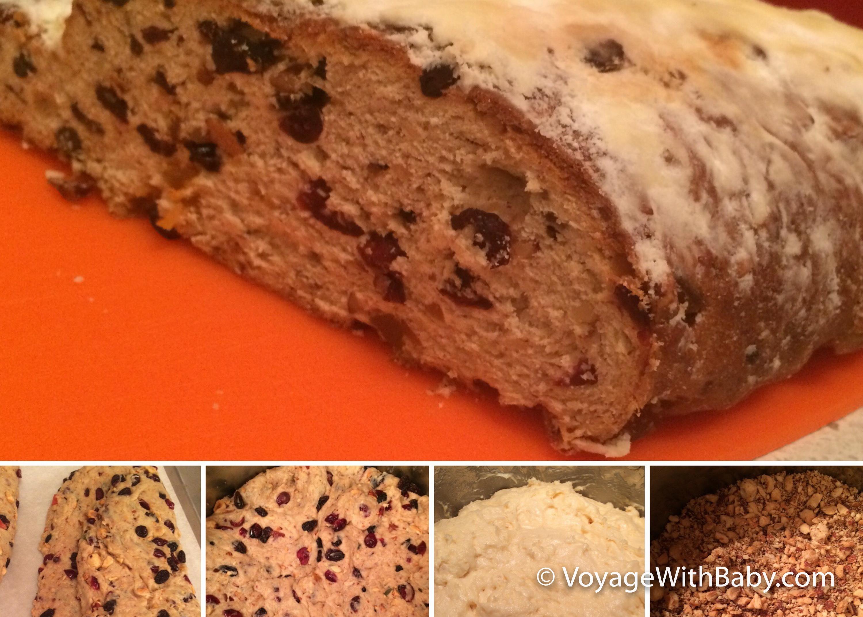Пирог штоллен рецепт с фото