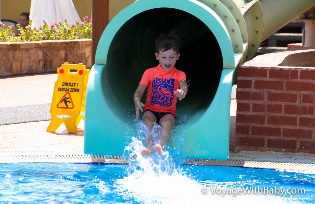 Отель с детским аквапарком в Турции