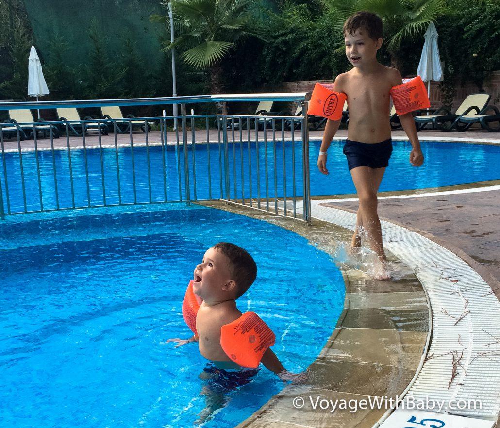 Отдых с маленькими детьми в Турции