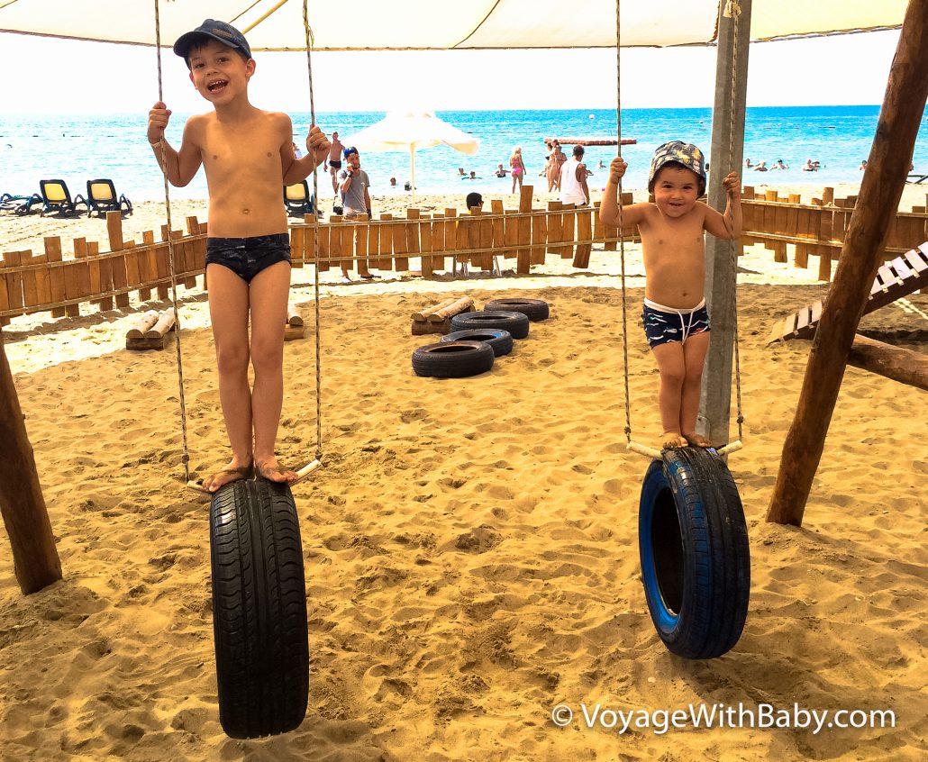 Пляж отеля Maritim Pine Beach