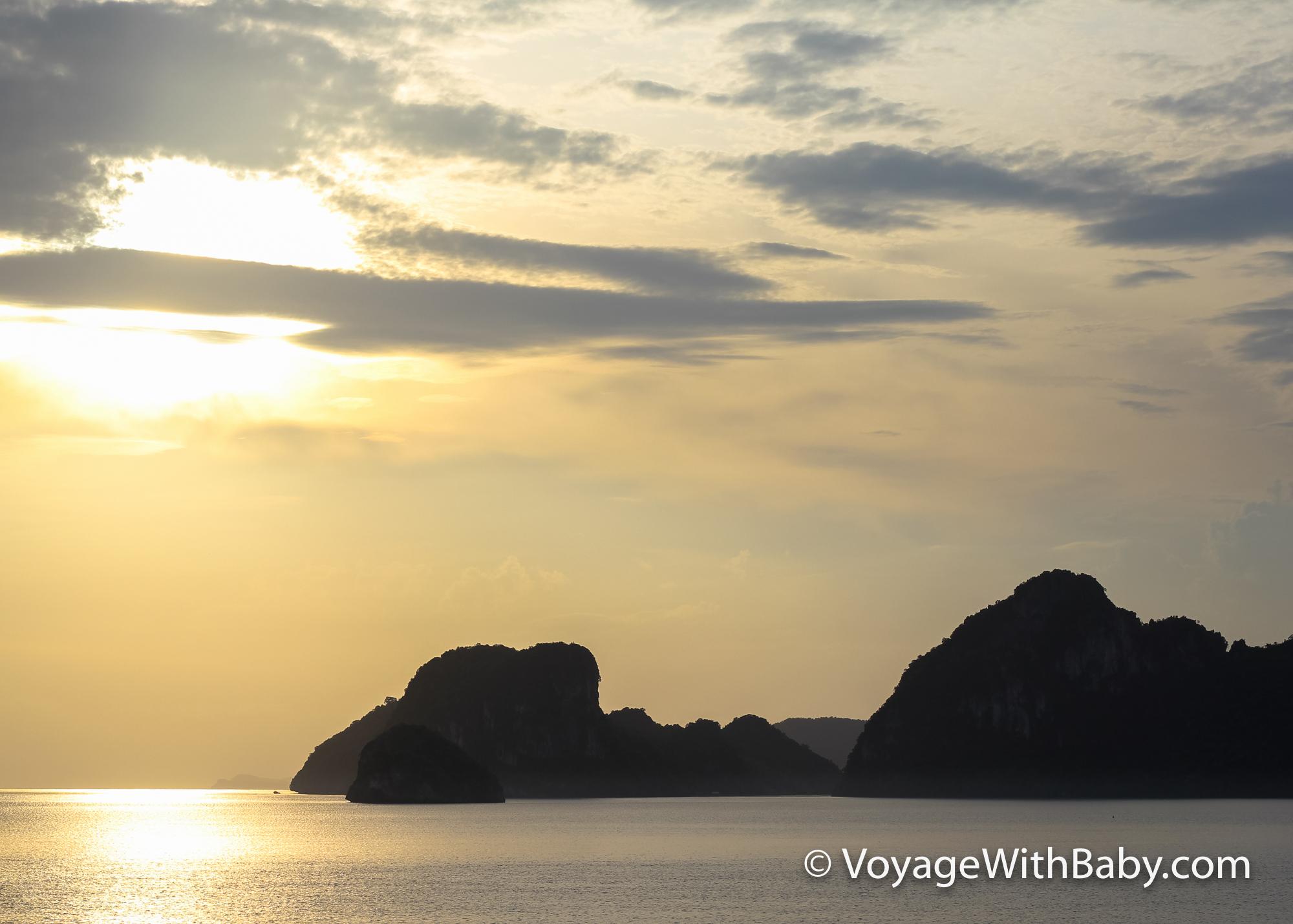 Рассвет в Таиланде