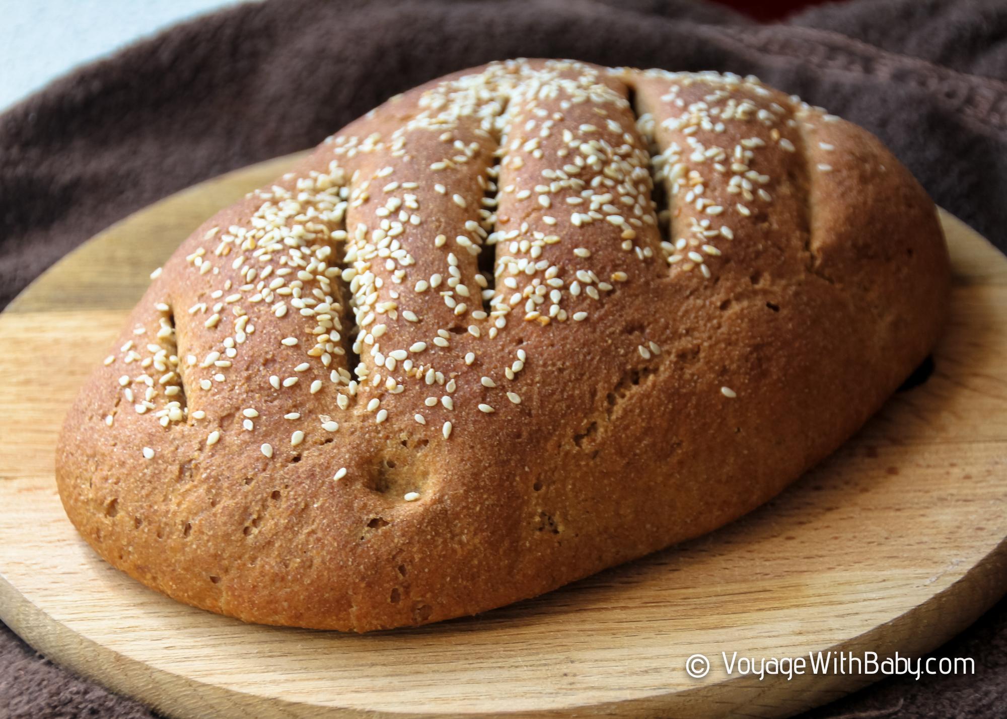 Вкусный домашний бездрожевой хлеб - Рецепт ржаной закваски и пшенично-ржаного хлеба