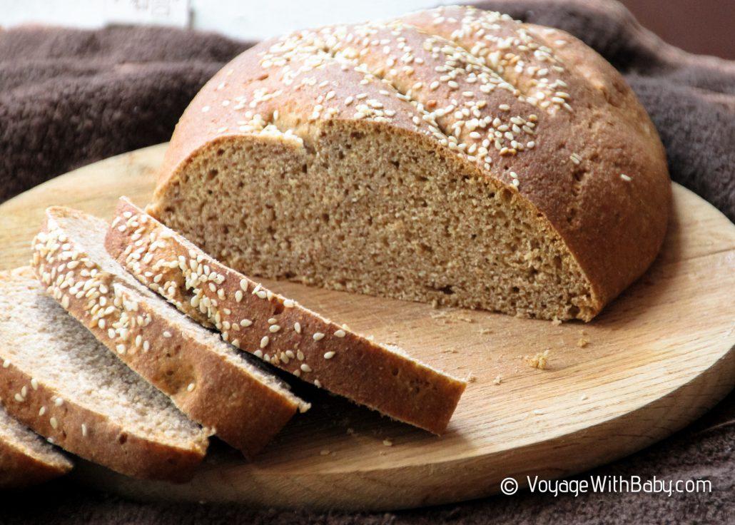Рецепт домашнего бездрожжевого хлеба