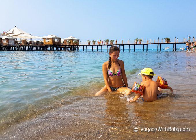 VONRESORT Golden Beach с двумя детьми
