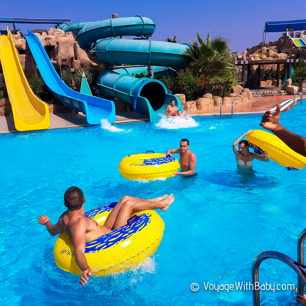 Аквапарк в отеле VONRESORT Golden Beach