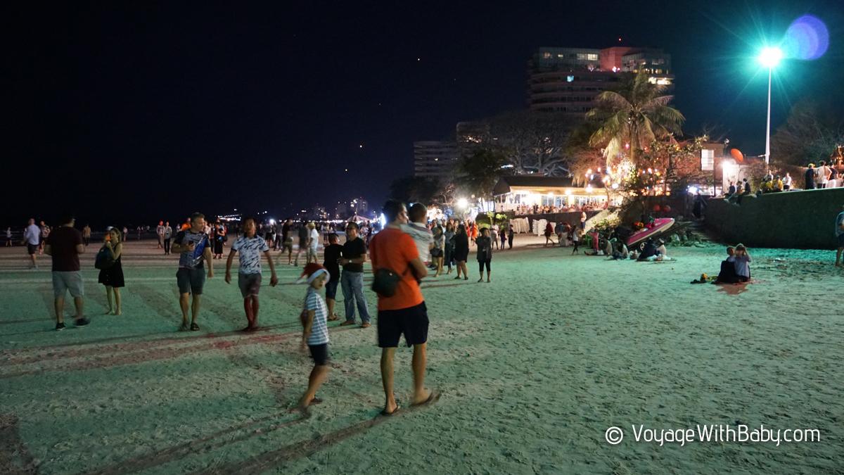 Новый Год на пляже в Хуа Хине