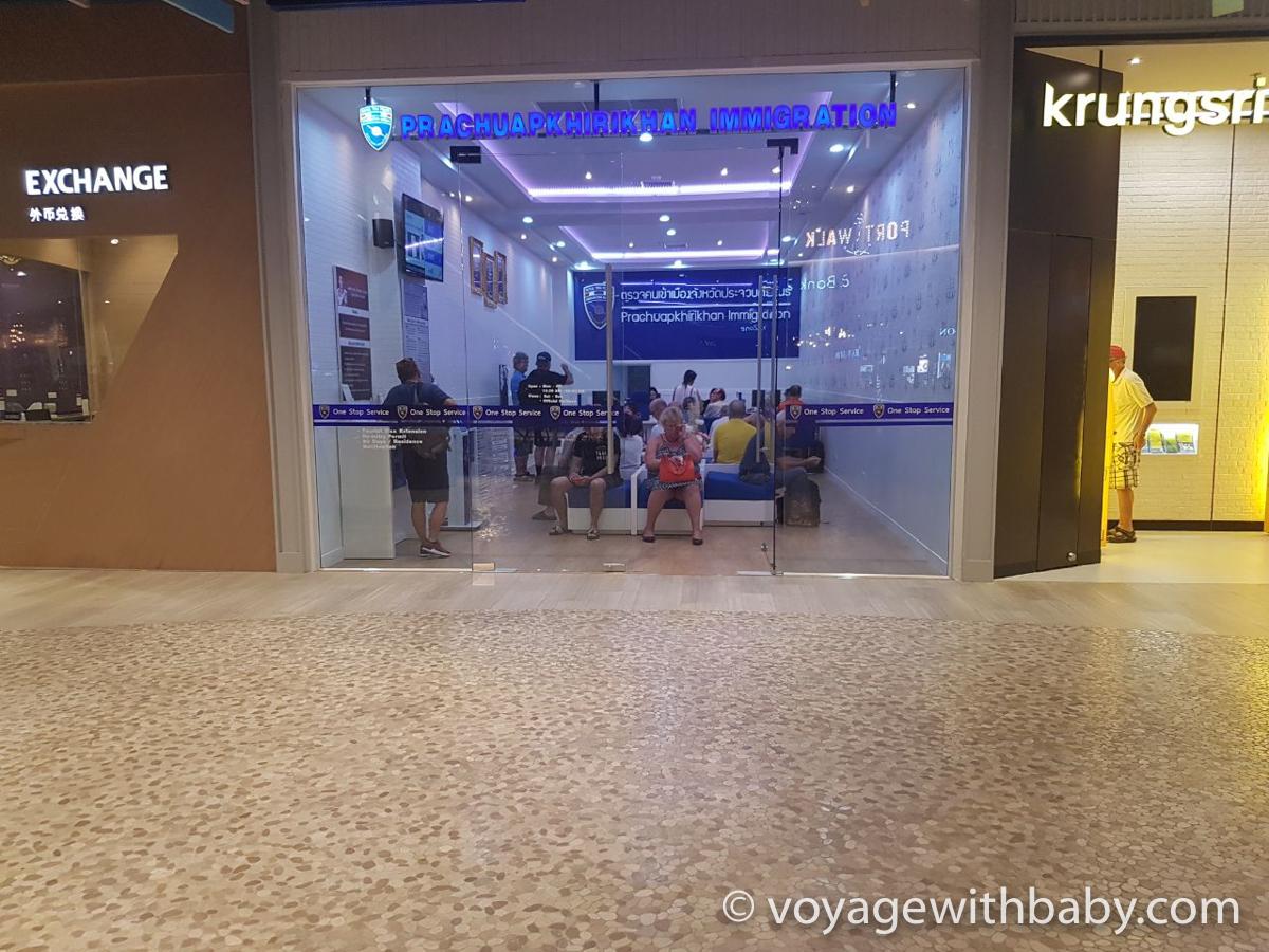 Продление тайской визы в Immigration Office в Хуа Хине