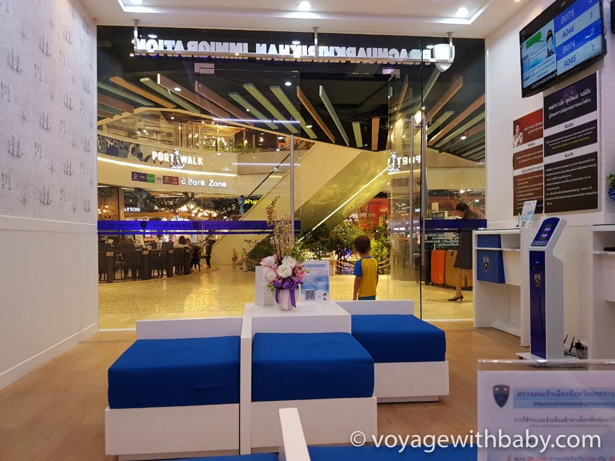 Новый офис продление визы в хуа хине